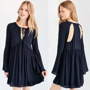 NWOT Urban Outfitters Ecote Crochet Trim Dress